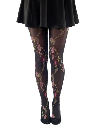 Gipsy Multicoloured Floral Tights