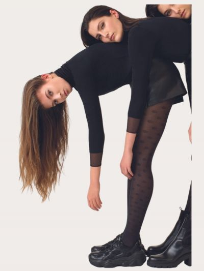 Oroblu Sustainable Fashion Polka Dot Tights