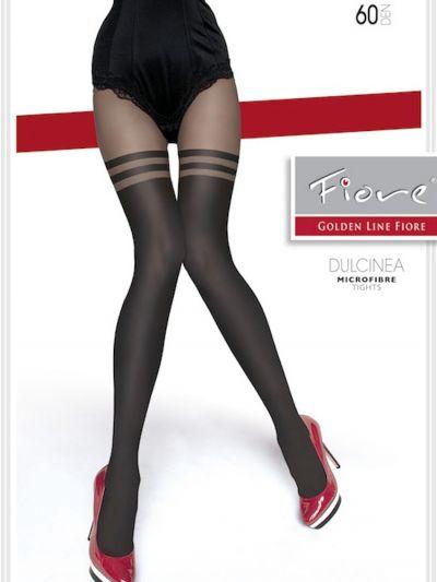 Fiore Dulcinea Over the Knee Double Stripe Tights