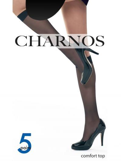 Charnos Sheer Knee Highs 5 Pair Pack