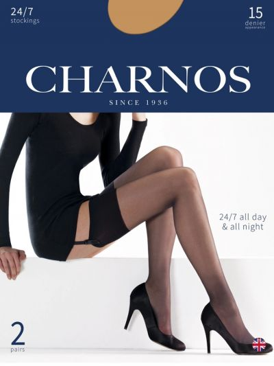 Charnos 24/7 15 Denier Stockings 2 Pair Pack