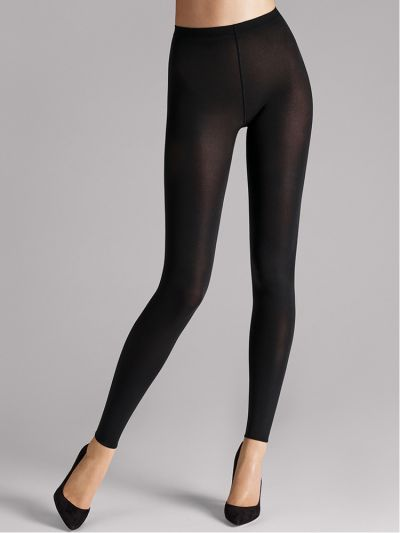 Wolford hosiery footless black opaque leggings