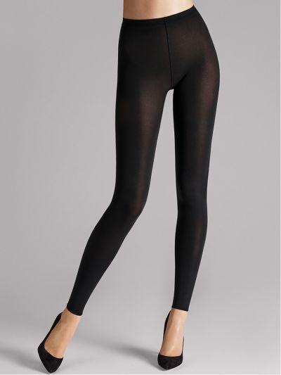 Wolford hosiery footless black opaque leggings