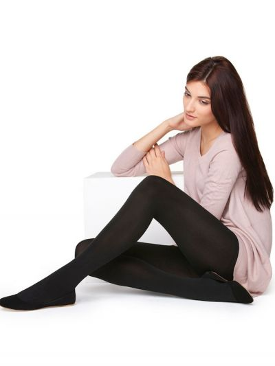 Silky 300 Denier Fleece Tights