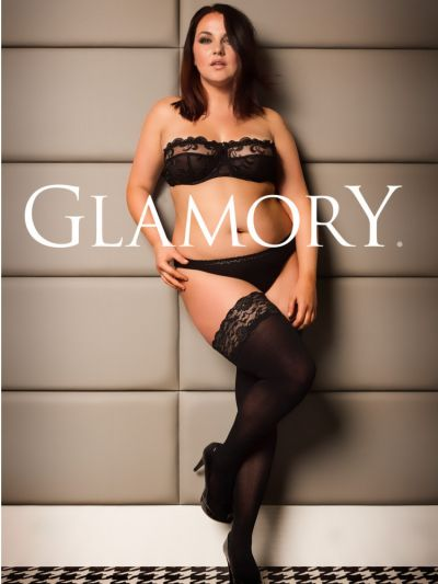 Glamory Micro 60 Denier Plus Size Hold Ups