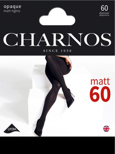 Charnos-NEW-60-Denier-Opaque-Tights-Black