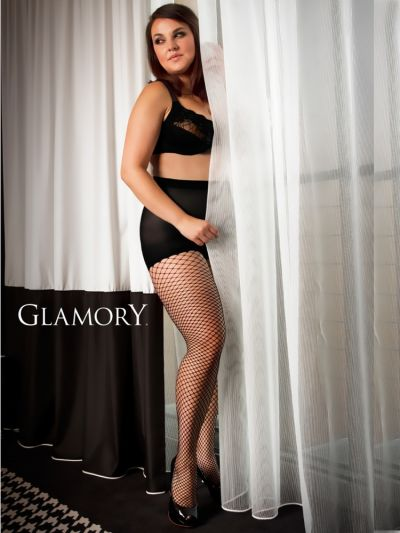 Glamory Fishnet Plus Size Tights