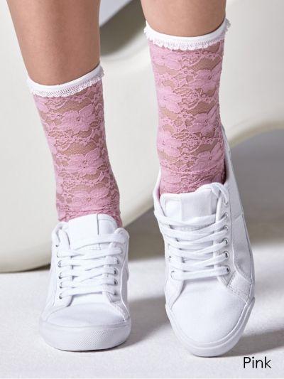 Gipsy-Lace-Socks-Pink