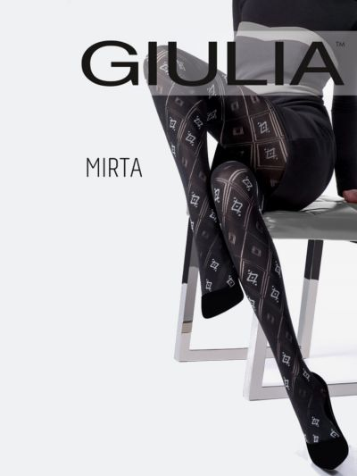 Giulia Mirta Model 3 Patterned Tights