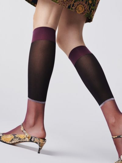 Fiore Fauna Knee Highs