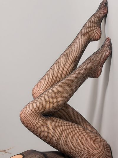 Jonathan Aston Shimmer Net Tights