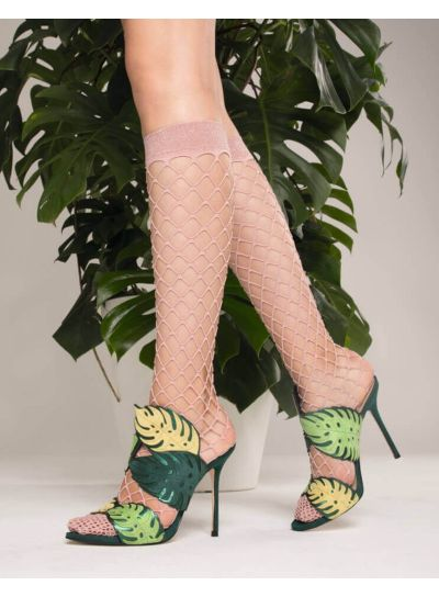 Trasparenze Ananas Sparkle Knee High Socks - Hosiery Outlet