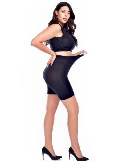 Pamela Mann 90 Denier Anti-Chafing Shorts, Up to 5XL