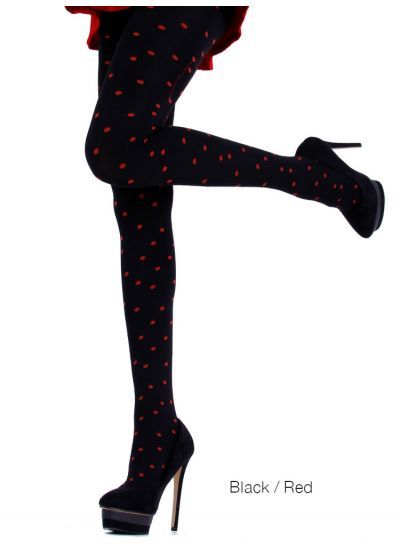 Cecilia de Rafael Dots Patterned Tights - Hosiery Outlet