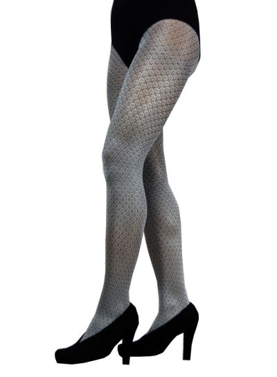 Cecilia de Rafael Sofie Patterned Tights - Hosiery Outlet