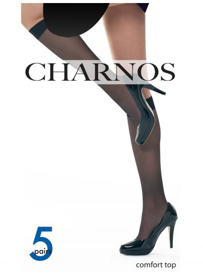 Charnos Sheer Knee Highs 5 Pair Pack