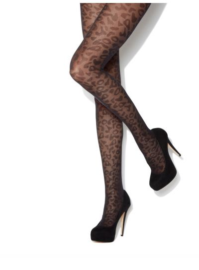 Charnos Animal Print Tights