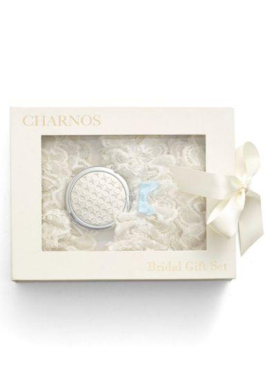 Charnos Bridal Gift Set - 2 Hold Ups & 1 Garter Hosiery Outlet
