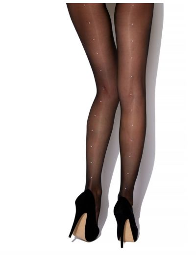 CCharnos Crystal Seamed Tights