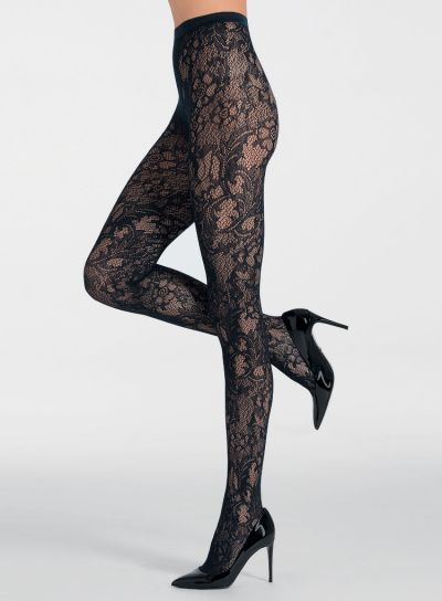 Pierre Mantoux Cloe Lace Tights