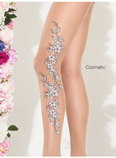 Trasparenze Hawthorn Floral Patterned Hold Ups