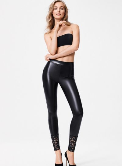 Wolford Emma Leather Leggings