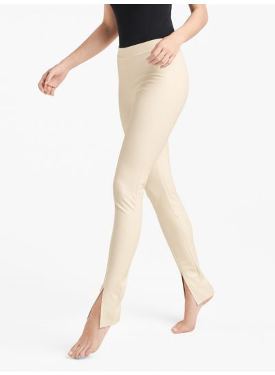 Wolford Estella Slit Leather Leggings