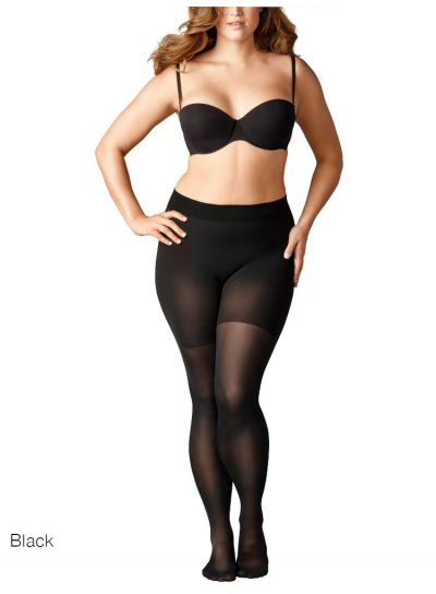 Falke Beauty Plus 50 Black Opaque Tights