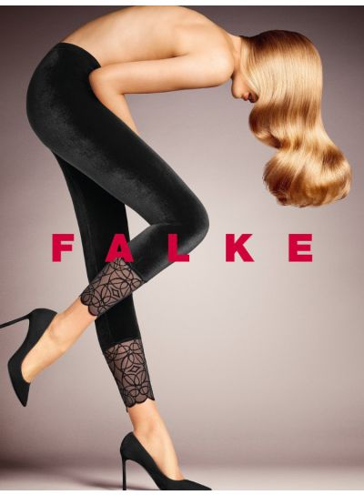 Falke Dark Romance Velvet Leggings