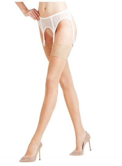 Falke NEW Seidenglatt 15 Denier Shiny Stockings Pack Image