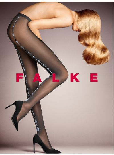Falke Tantra Sparkle Seamed Tights