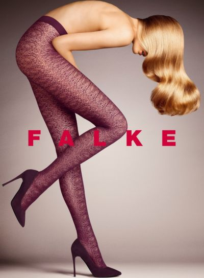 Falke Fan Floral Lace Tights Pack Image