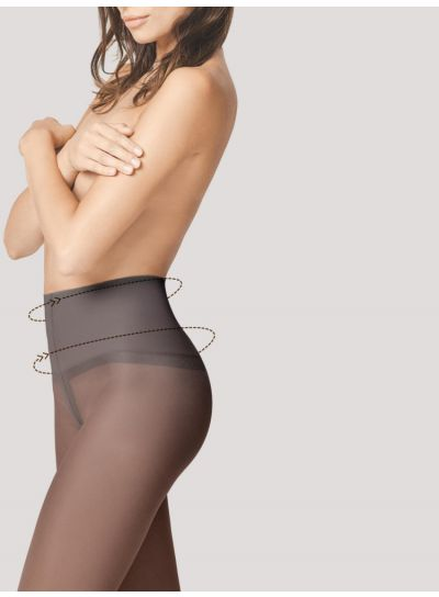 Fiore FIT-Control 40 Semi - Opaque Tummy Shaper Tights