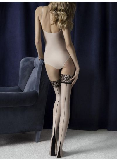 Fiore-Lust-Animal-Print-Top-Hold-Ups-Linen