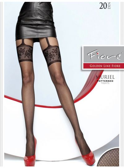 Fiore Muriel Mock Suspender Tights