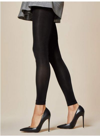 Fiore Notte 80 Denier Footless Tights