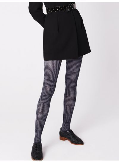 Fiore Ostia Patterned Tights