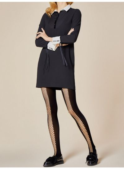 Fiore Rapide Opaque Fishnet Tights