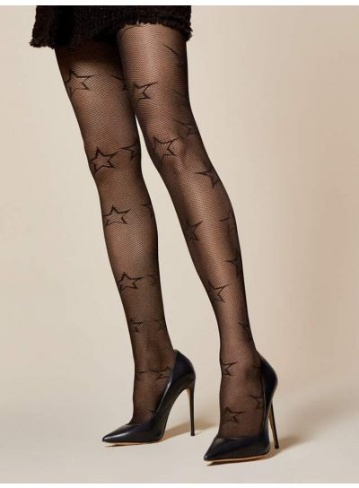 Fiore Stella Star 30 Denier Patterned Tights