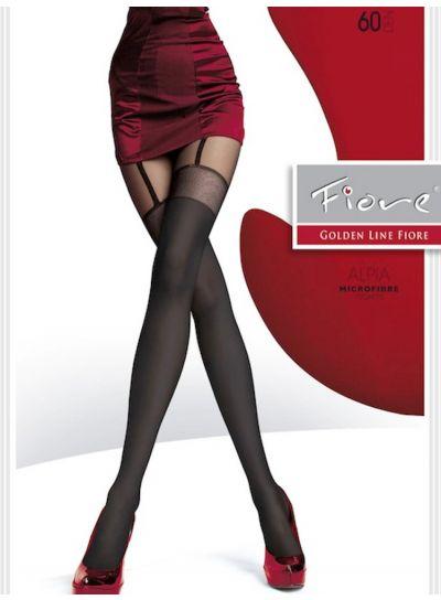 Fiore Alpia Suspender Tights - Available in 3 sizes