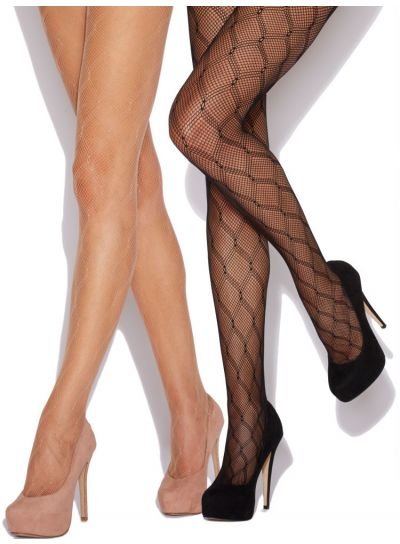 Charnos Diamond Fishnet Tights