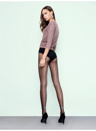 Fiore Flare Seamed Sparkle Tights