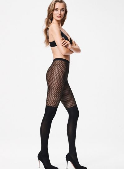 Wolford Galatea Over The Knee Tights