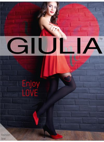 Giulia Enjoy Love Over The Knee Heart Tights