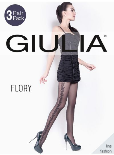 Giulia Flory Patterned Tights 3 Pair Pack