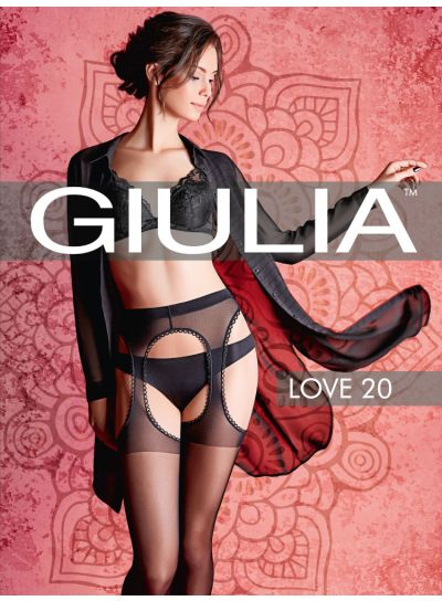 Giulia Love 20 Strip Panty Tights