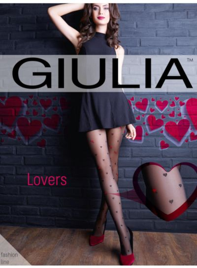 Giulia Lovers All Over Heart Tights