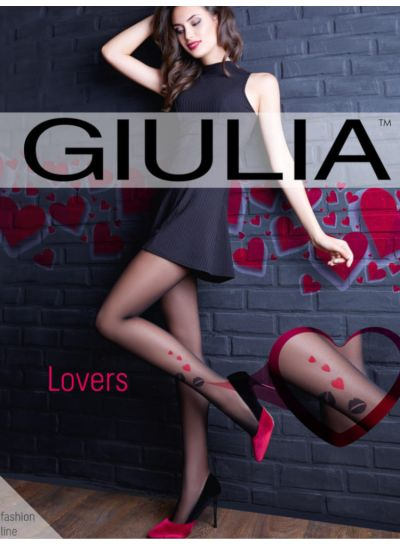 Giulia Lovers Heart Ankle Motif Tights