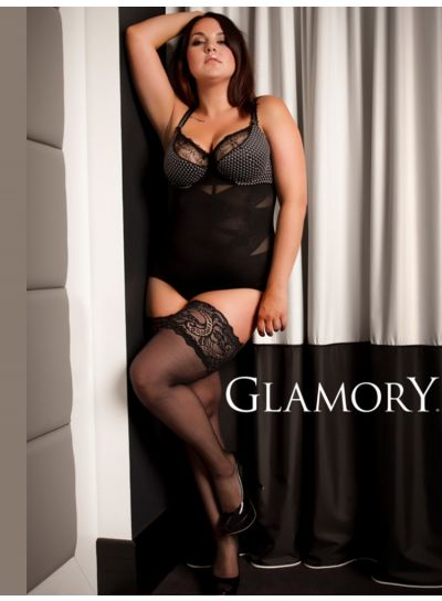 Glamory Comfort Lace Top Hold Ups