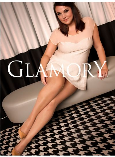 Glamory Vital 40 Support Tights, Plus Size XL-4XL